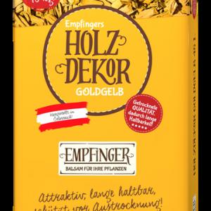 Holzdekor Empfinger Goldgelb