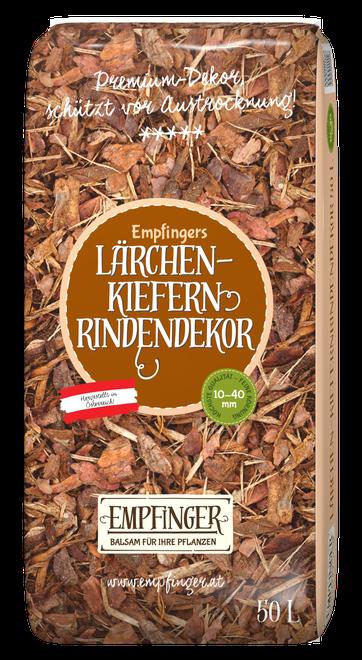 Lärchen-Kiefern-Rindendekor